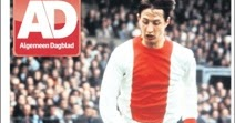 Le più belle prime pagine sul grande Johan Cruyff.