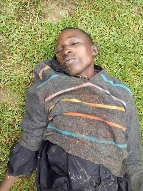 Notorious Cultist And Kidnapper Shot Dead By Anti-cult Group In Delta (Graphic Photos)