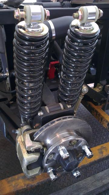 500cc Agmax Military UTV Dual Rear Shocks + Ventilated Disc Brakes