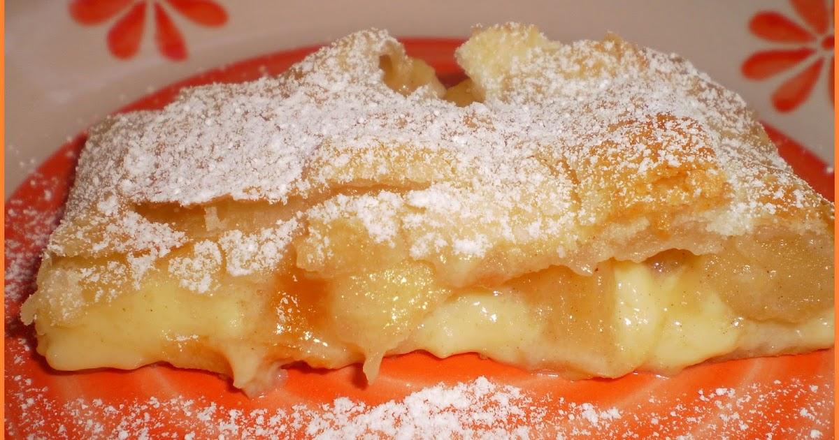 Cucina pasticci strudel se cos si pu chiamare con mele e crema pasticcera - Cucina e pasticci ...