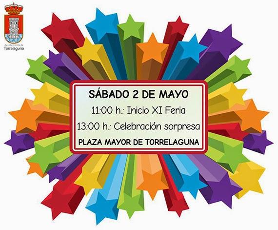 XI Feria del Comercio y la Artesanía de Torrelaguna, sábado 2 de mayo 2015