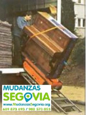 Transportes Nava de la Asunción Segovia