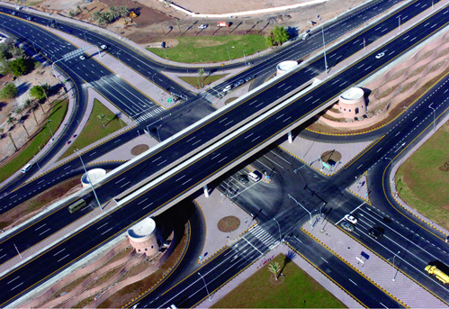 Oman - highway interchange (photo credit: omanet.com)