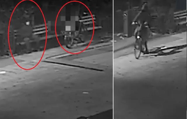 VIDEO: Sujeto se sentó al lado de repartidor inmigrante al que acuchilló para robarle su bicicleta en Manhattan