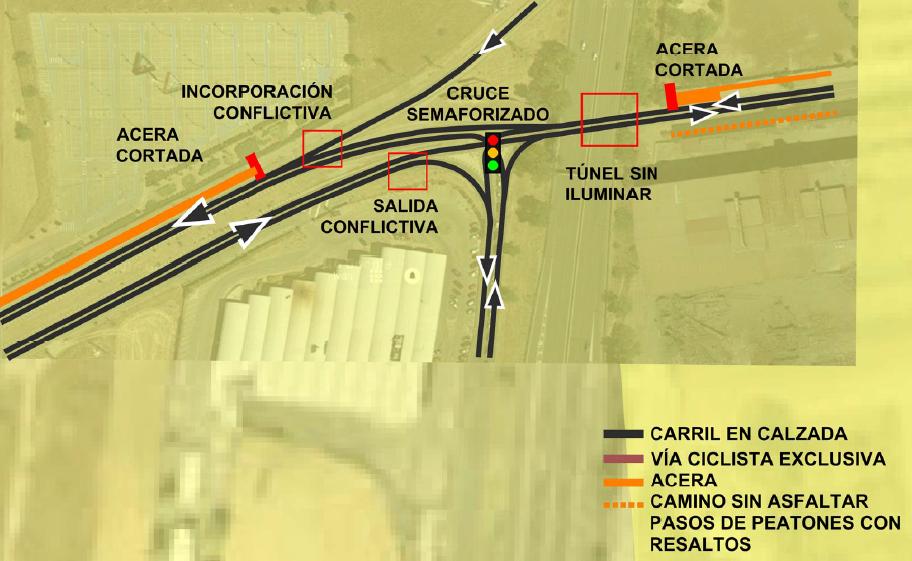 Leganés - Villaverde. Situación actual en detalle