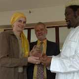 Galardón en New York Embajador por la Paz del Milenio (2009-Mayo-13)