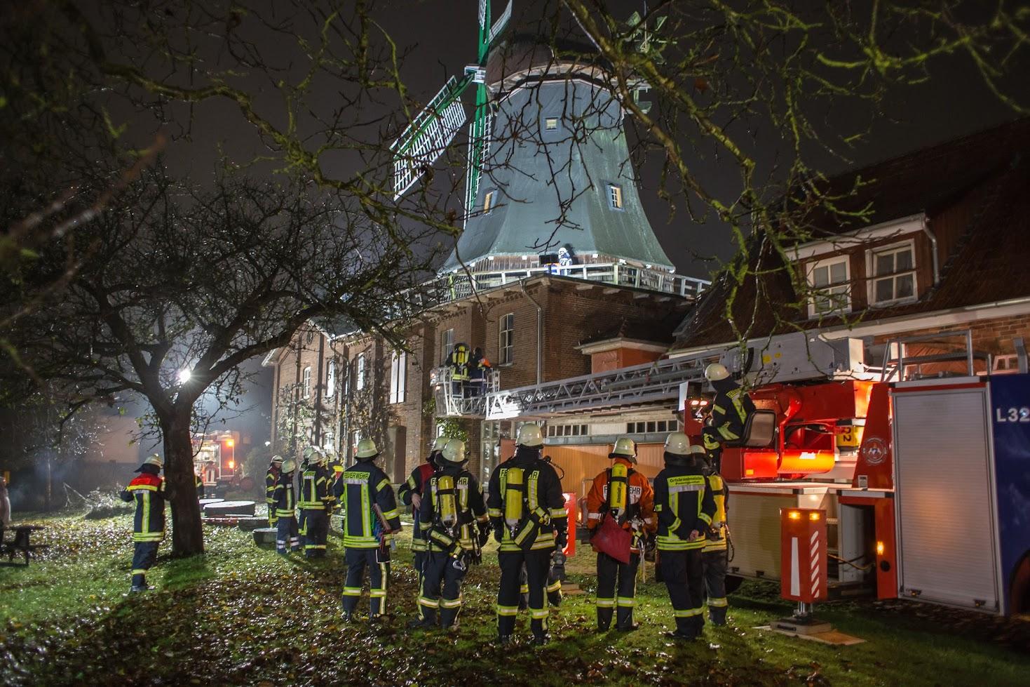 Feuerwehr-Übung in Osterholz-Scharmbeck