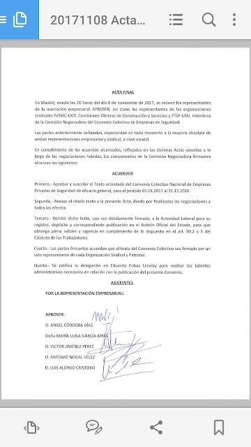 CC OO no firmará el convenio de Hostelería sin una subida salarial Screenshot_2017-11-09-00-12-34