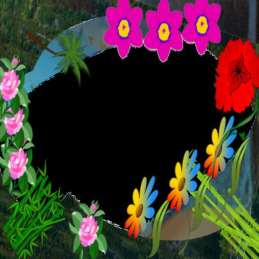 staples flower Photo Frames