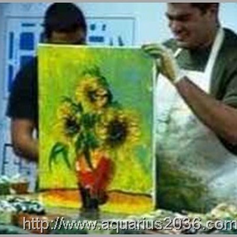 Desencarnados em platéia, foram retratados em Pinturas Mediúnicas