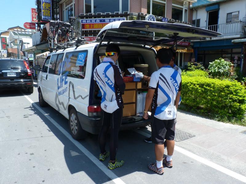 Chihshang. Ils font le tour de Taïwan en six journées