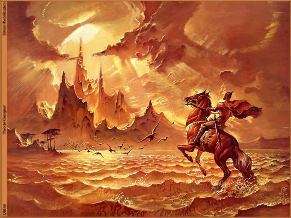 Nightmare Of Horror Landscape 10, Magical Landscapes 4