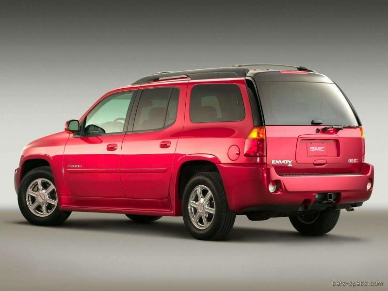 2004 Gmc Envoy Xl Suv Specifications Pictures Prices