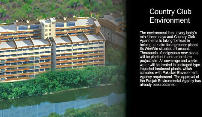 Country Club Apartments Islamabad