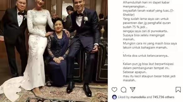 Baim Wong Bangun Pesantren di Purwakarta Untuk Para penghafal Al Quran, Bahagiakan Mendiang Ibu