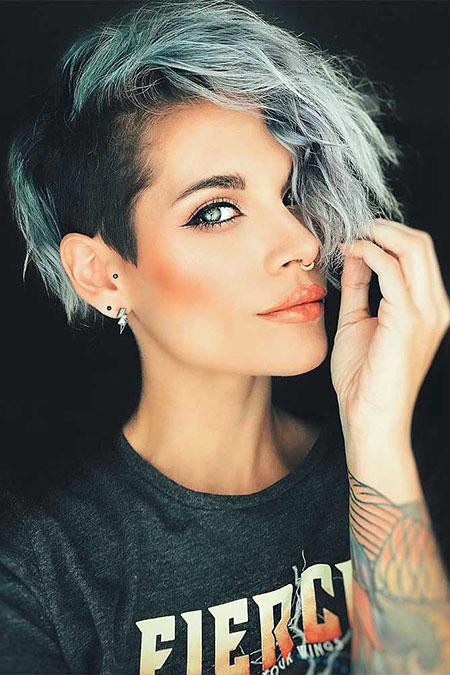 Awesome Women S Undercut Hairstyle For Short Hair 2018 Fashionre