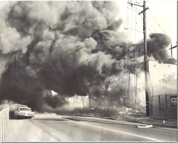 J.B. Rice Fire  -8-26-60