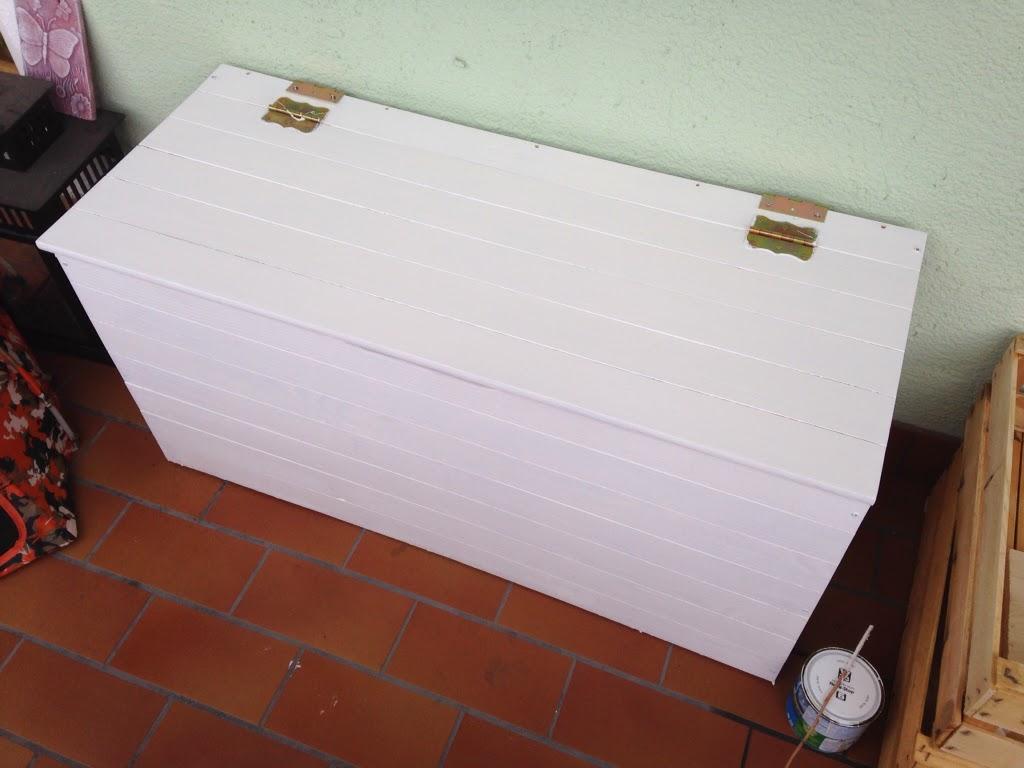 Pallet punti e coseacaso for Cassapanca per balcone