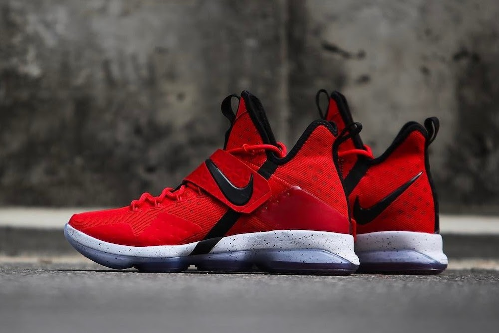 16cee6f95474 ... Nike LeBron 14 University Red Release Date ...