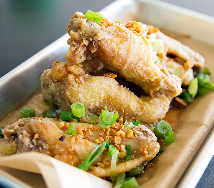 close-up photo of Fish Sauce Wings
