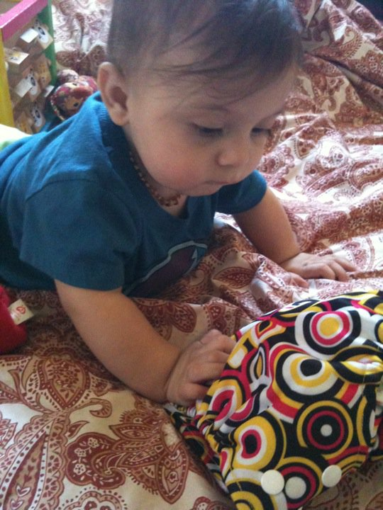 kawaii baby cloth diapers how to use