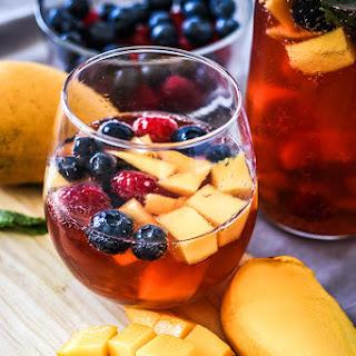 Mango Berry Rosé Sangria Recipe