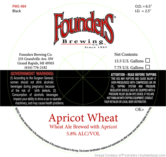 Founders Brewing - Apricot Wheat