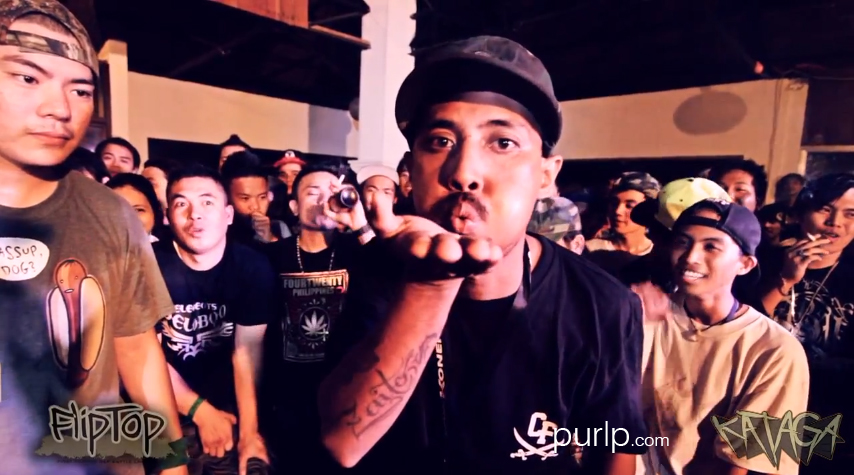 FlipTop Battle - Zaito vs Batang Rebelde - Official Video - 12-09-2012