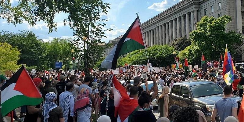 Peringati Hari Nakba, Gerakan Solidaritas Pro-Palestina Digelar Di 65 Kota Amerika