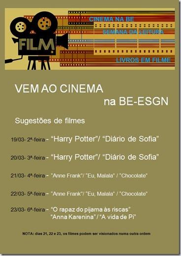 cartaz cinema