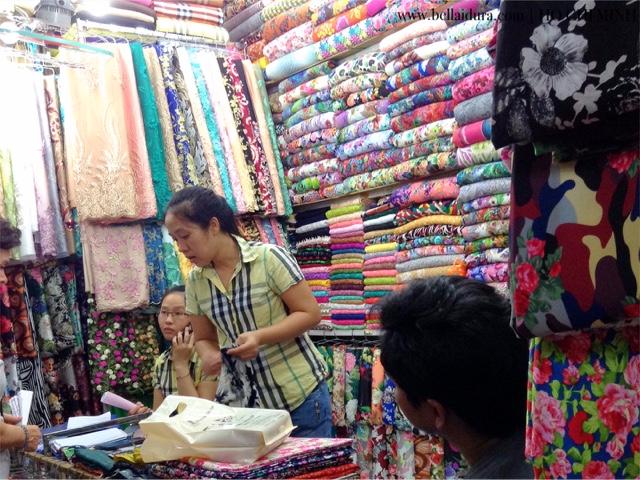membeli belah kain cotton
