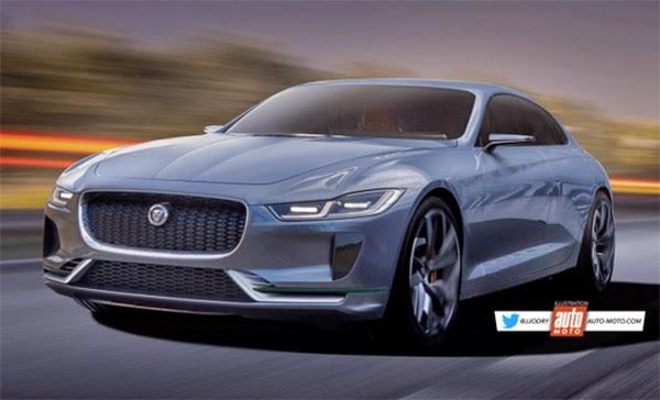 2022 Jaguar XJ: new illustration... - CAR ON REPIYU