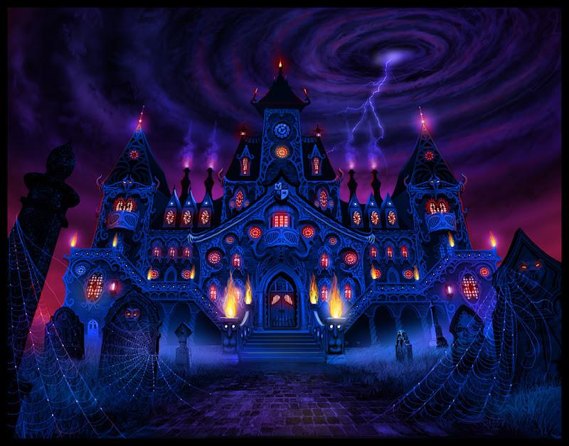 Freakmorecolor Large, Magical Landscapes 3