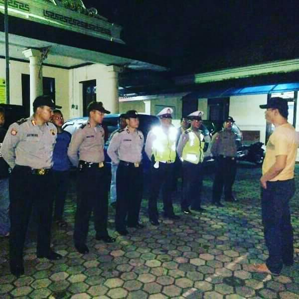 Polsek Juana Siaga Ciptakan Kamtibmas Dan Antisipasi Balap Liar