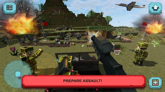 Army craft heroes of ww2 war games building android for Crafting and building 2