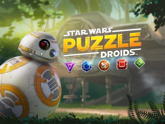 Star wars puzzle droids mobil oyunu