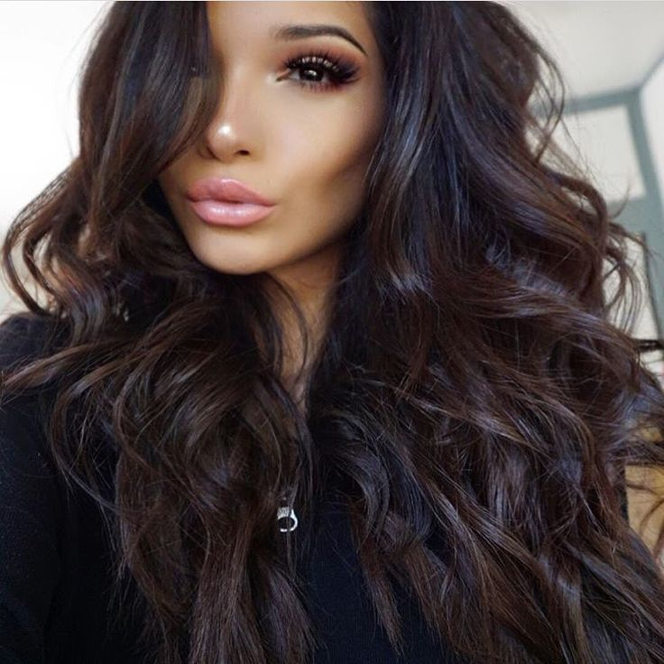 LATEST STYLES OF DARK BROWN HAIR FOR PRETTY WOMEN 4