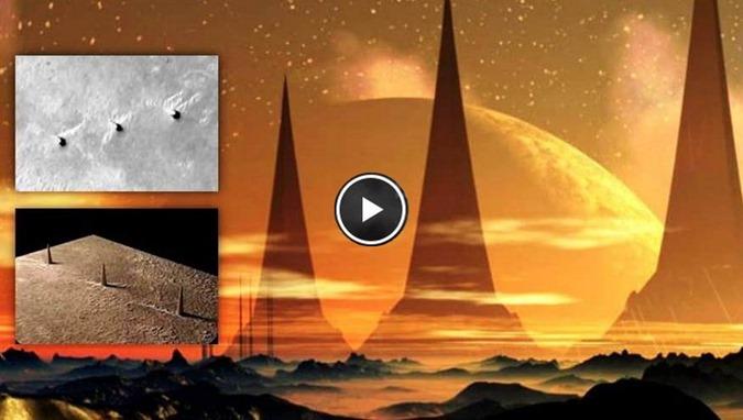 Marte, NASA censura imagens das Torres artificiais