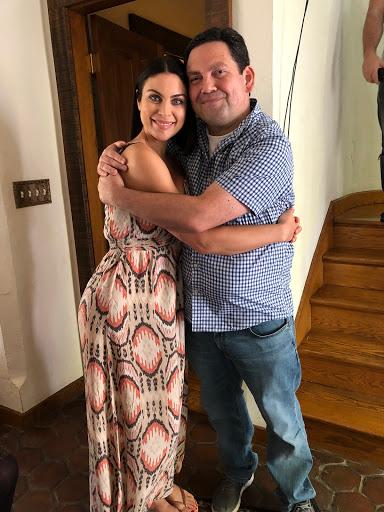 Geno with Nadia Bjorlin