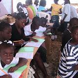 Wongglere rebuilding school in Haiti