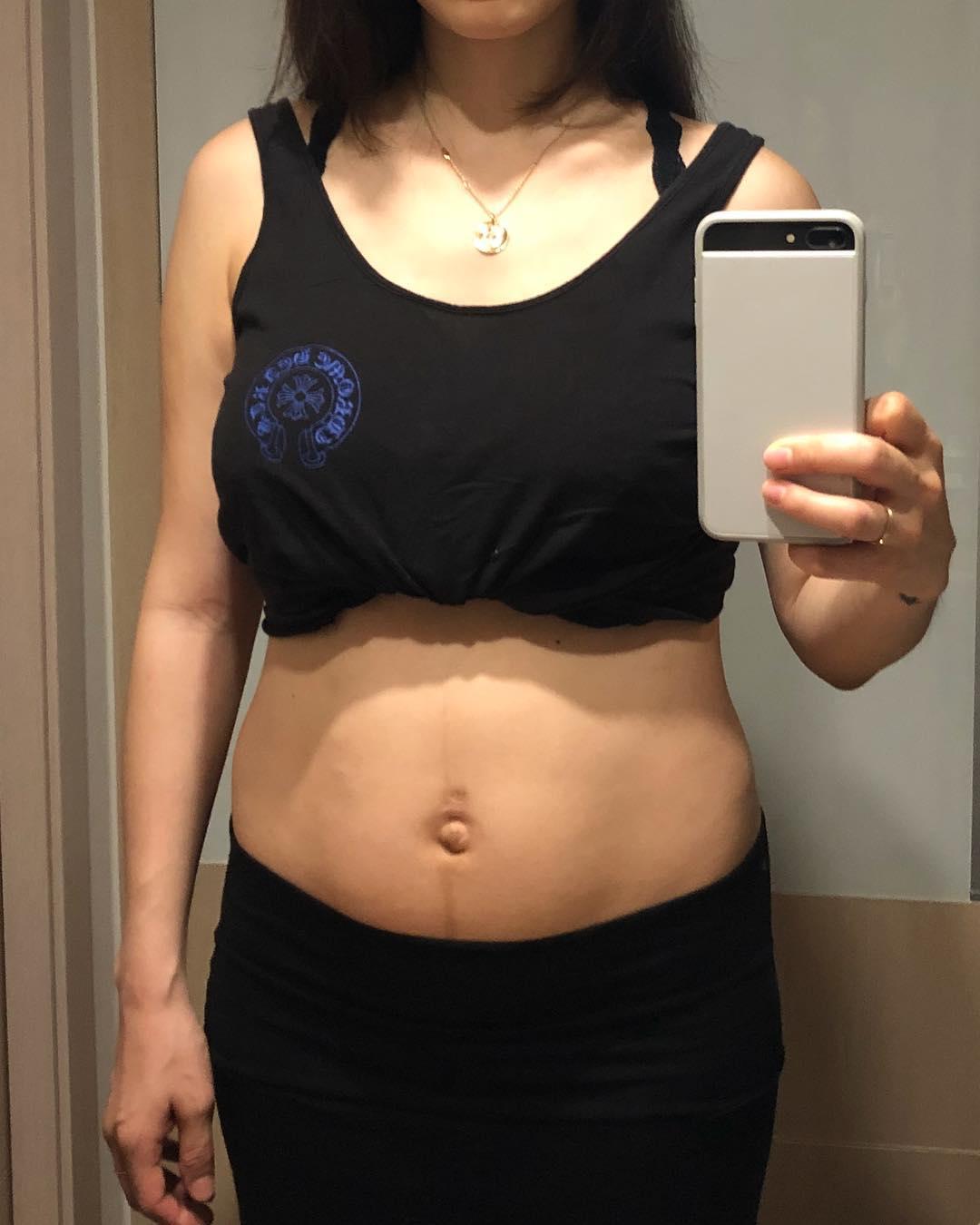 kahi pregnancy weight