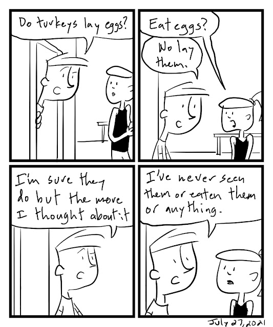 Then This Happened Webcomic by Tom Ray