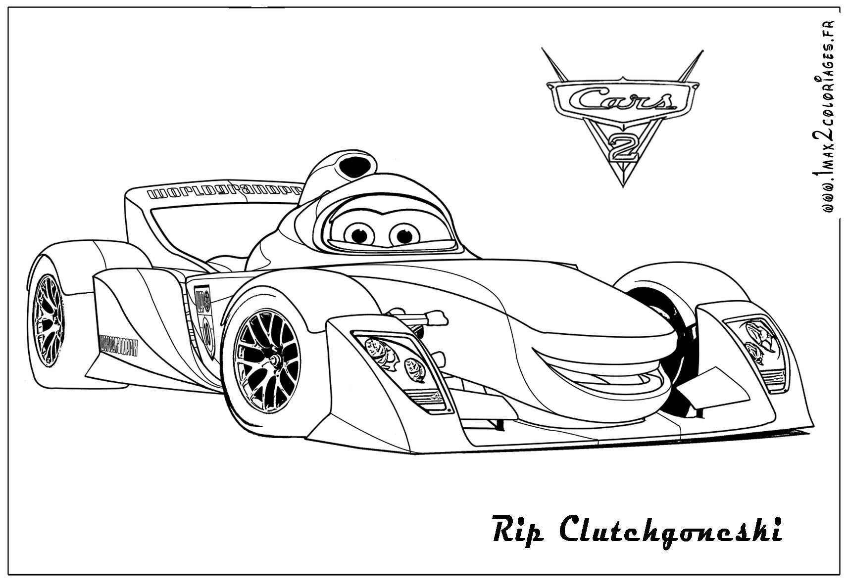 Unique Cars 2 Printable Coloring Pages Library