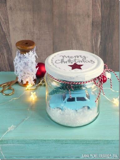 Preferenza Palle di neve e paesaggi innevati [Natale #faidate] - Cafe Creativo MV08