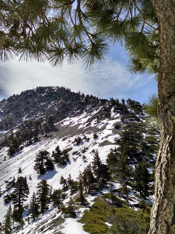Thunder Mountain, Telegraph Peak, and Timber Mountain • Telegraph Peak