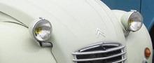 Citroën 1970 2 CV phares
