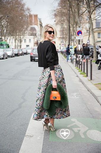 Sofie Valkiers; blogger; Celine glasses; Zara top; Red Valentino skirt; Jimmy Choo shoes; Jimmy Choo bag;