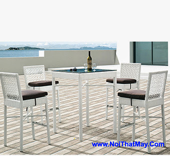 Outdoor Wicker Bar Set Minh Thy 830