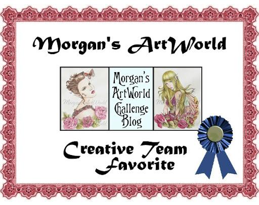 DT Favorite at Morgan's Art World Challenge Blog