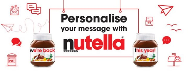 SEND A SPECIAL SHOUT-OUT TO A LOVED ONE VIA #NUTELLAMESSENGER 4
